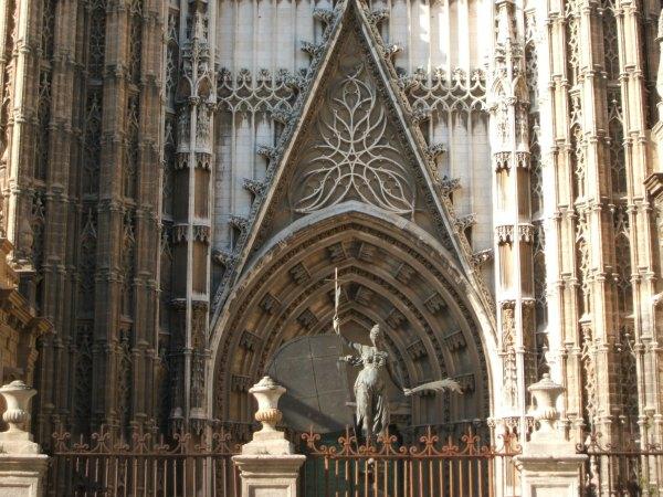 Baby Boomer Travel | Seville, Spain | Seville Cathedral entrance