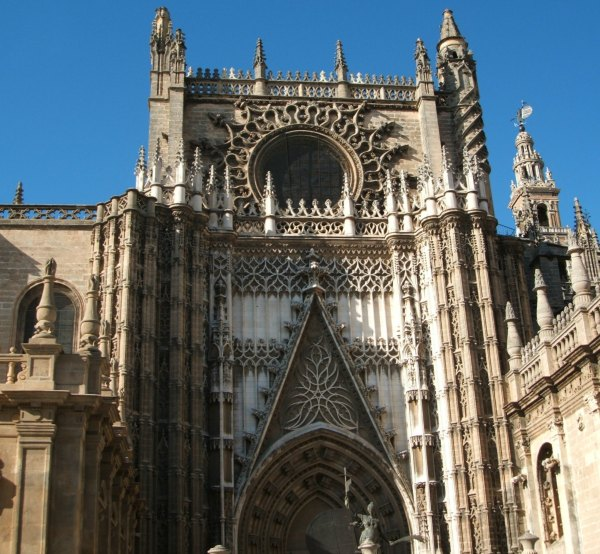 Baby Boomer Travel | Seville, Spain | Seville Cathedral entrance - top