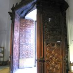 Baby Boomer Travel | Seville, Spain | Iglesia De Santa Cruz old Synagogue door