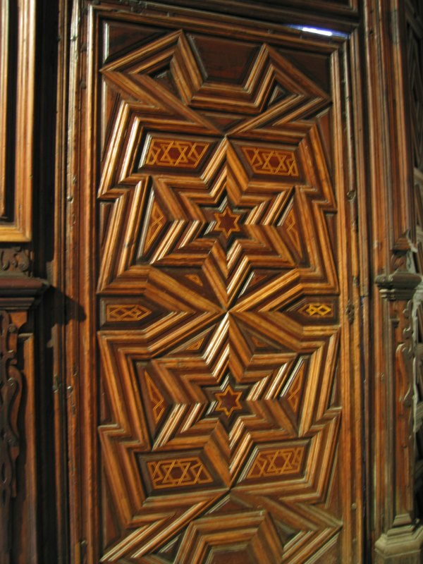 Baby Boomer Travel | Seville, Spain | Iglesia de Santa Cruz old synagogue door