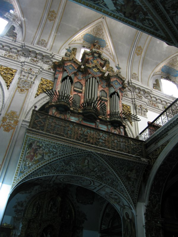 Baby Boomer Travel | Seville, Spain | Real Parroquia de Santa María Magdalena organ pipes