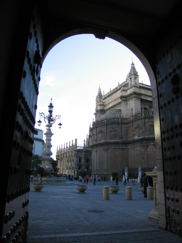 Baby Boomer Travel | Seville, Spain | View of Cathedral through door