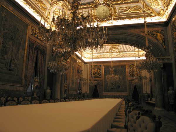 Baby Boomer Travel | Spain | Madrid - Royal Palace Dining Table