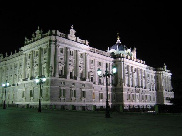 Baby Boomer Travel | Spain | Madrid - Royal Palace Night
