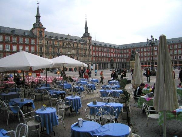 Baby Boomer Travel | Spain | Madrid - Plaza de Mayor and Cafes