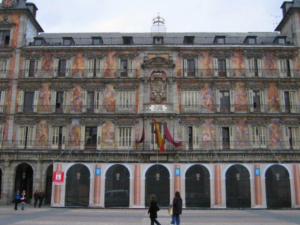 Baby Boomer Travel | Spain | Madrid - Plaza de Mayor doors and windows