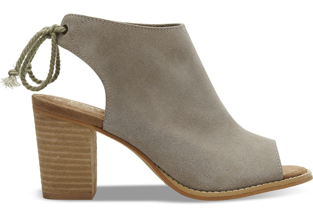 Fashion Over 50 | Boots | Desert Taupe Suede Women's ELBA Booties - affiliate link