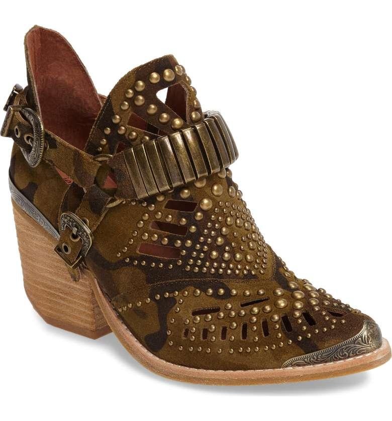 Fashion Over 50   Summer Boots   Calhoun Cutout Bootie