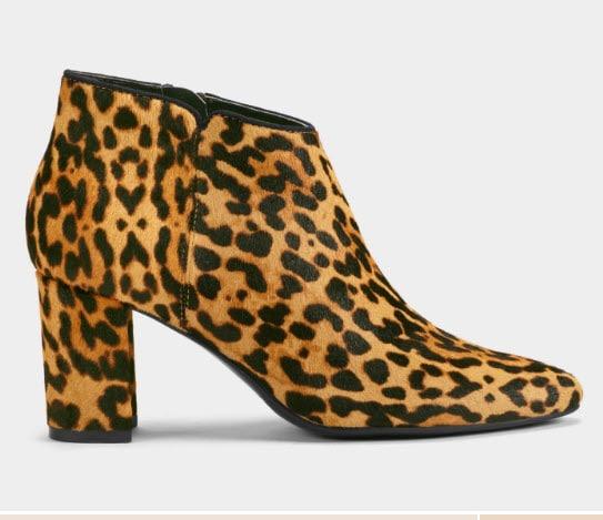 Aerosole Leopard booties