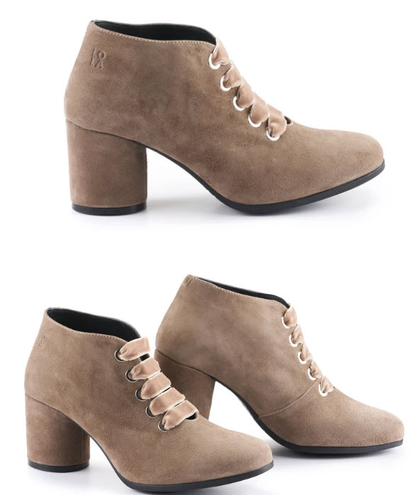 Lola Miller Lexi suede ankle boots in stone - so stylish #ankleboots #booties