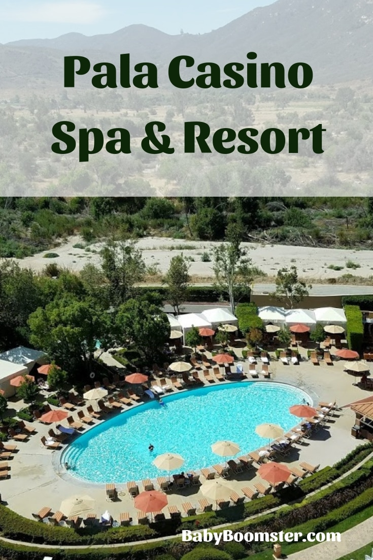 Pala Casino Spa & Resort is near Temecula, California in San Diego County. Located on an Indian reservation, it's a fun place to relax, eat fabulous food, watch concerts and have fun. #IndianCasino #Temecula #California #SanDiegoCounty #travelUSA #gambling #concertvenue