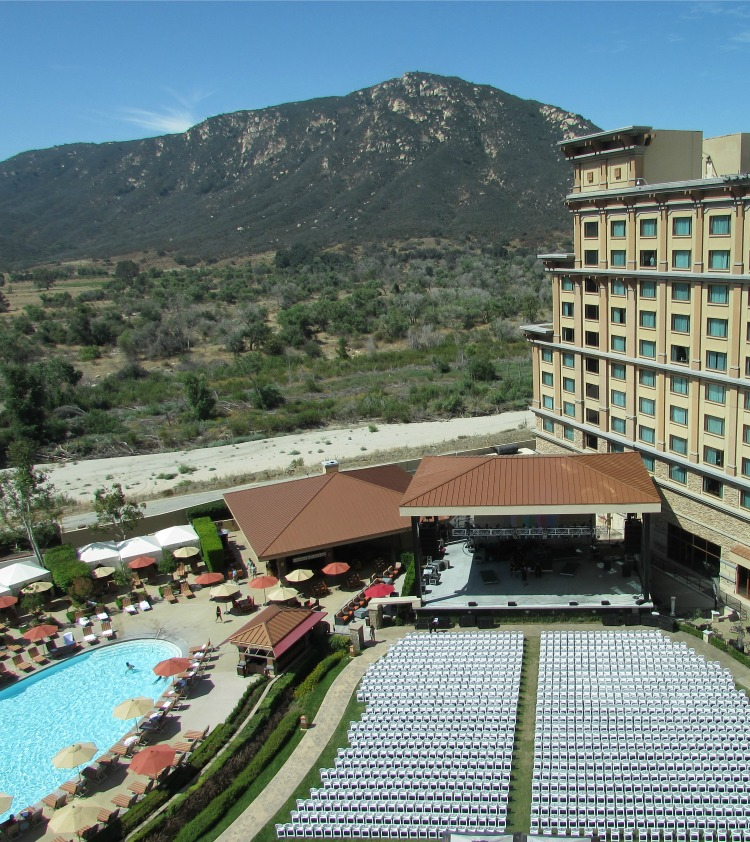 Baby Boomer Travel | California | Pala Casino View of Stage