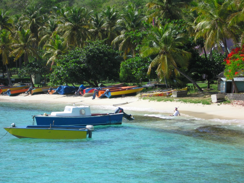 Baby Boomer Travel | Caribbean | Mustique - Beach