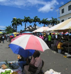 Baby Boomer Travel | Caribbean | St Vincent market