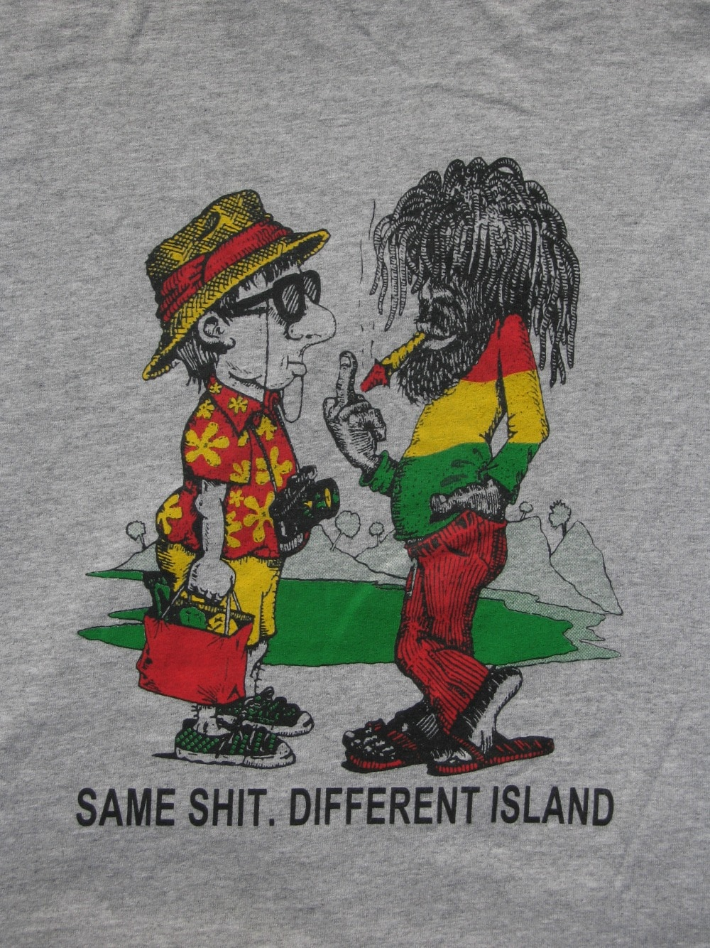 Baby Boomer Travel | Caribbean | Tee shirt humor - same shit - different island