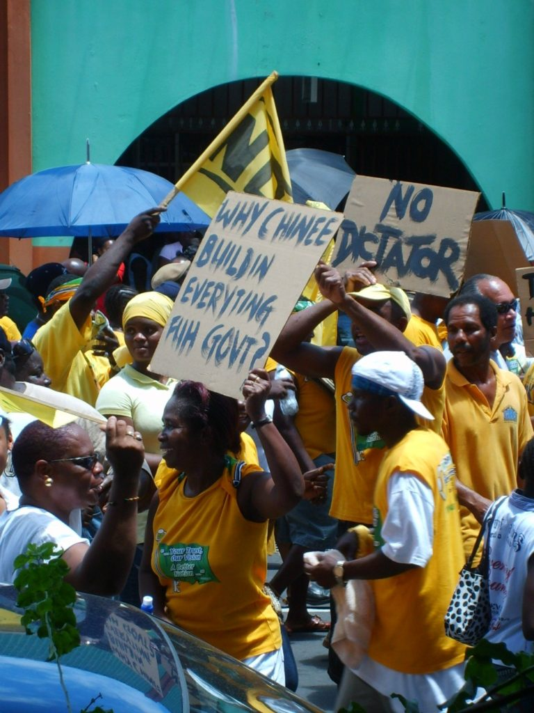 Baby Boomer Travel | Caribbean | Protest - St Vincent