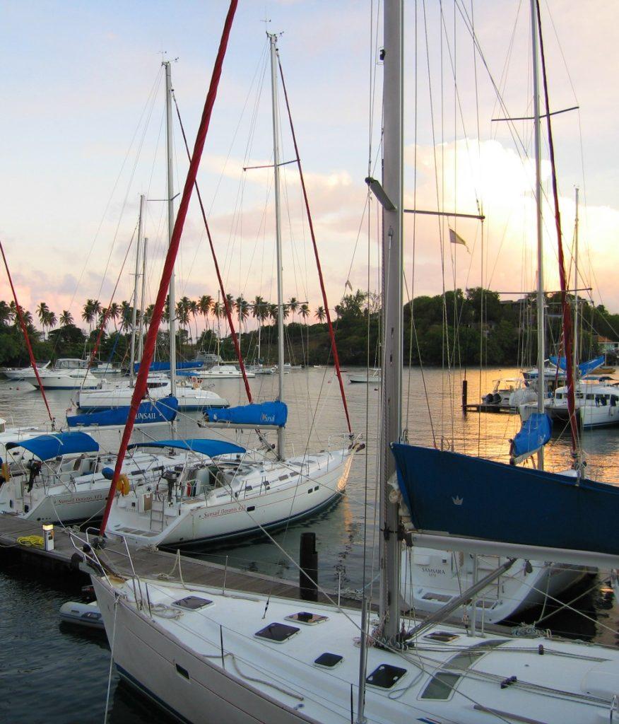 Baby Boomer Travel | Caribbean | St Vincent - Sunsail Marina