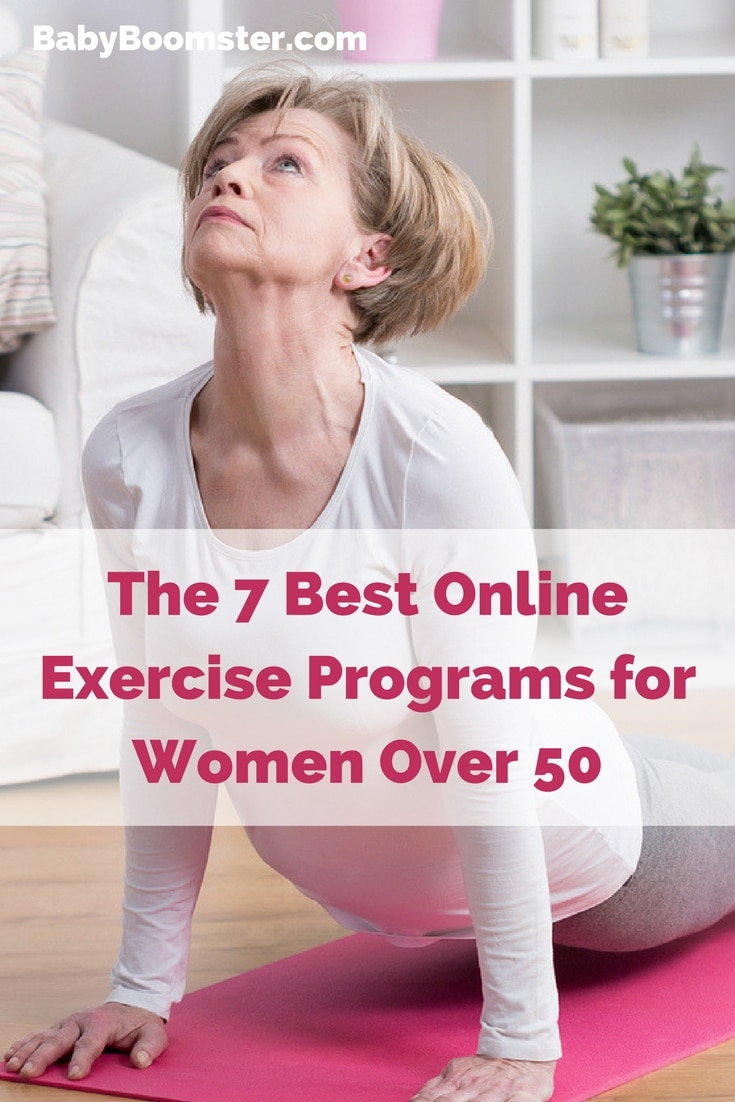Baby Boomer Women | Fitness | 7 Best Online Exercise Programs for Women Over 50