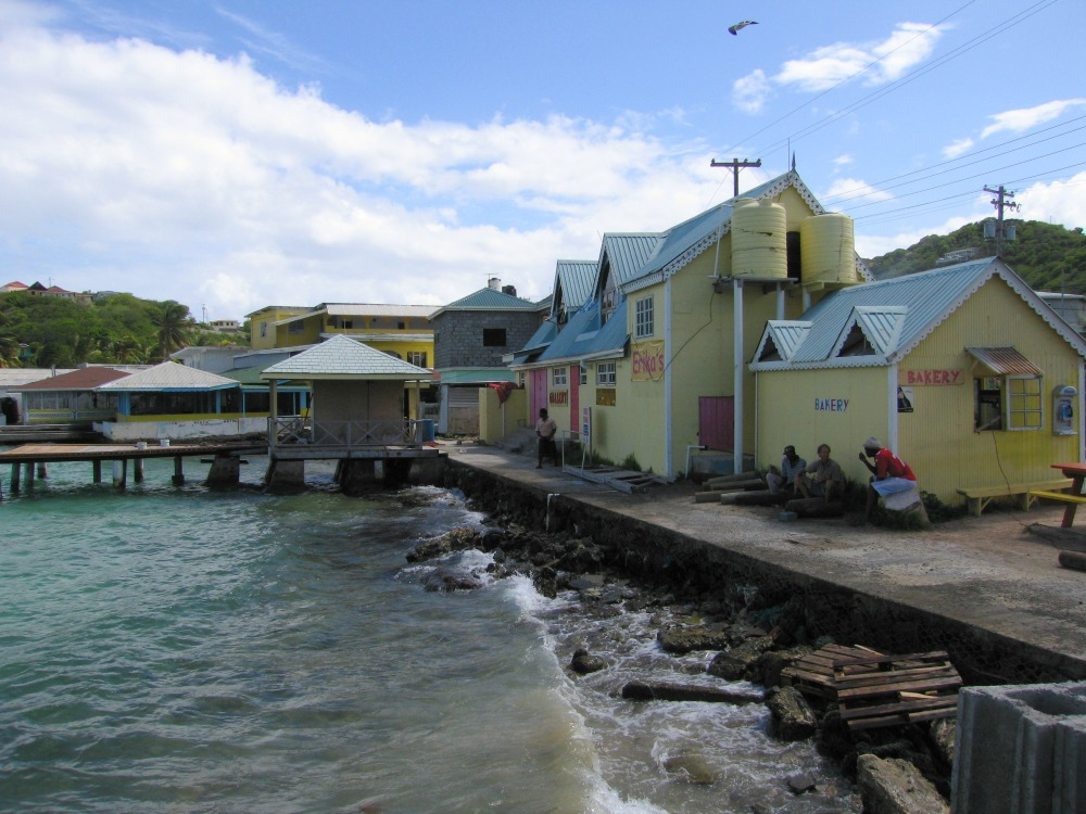 Baby Boomer Travel | Caribbean | Union Island pier