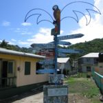 Baby Boomer Travel | Caribbean | Union Island - Street sign