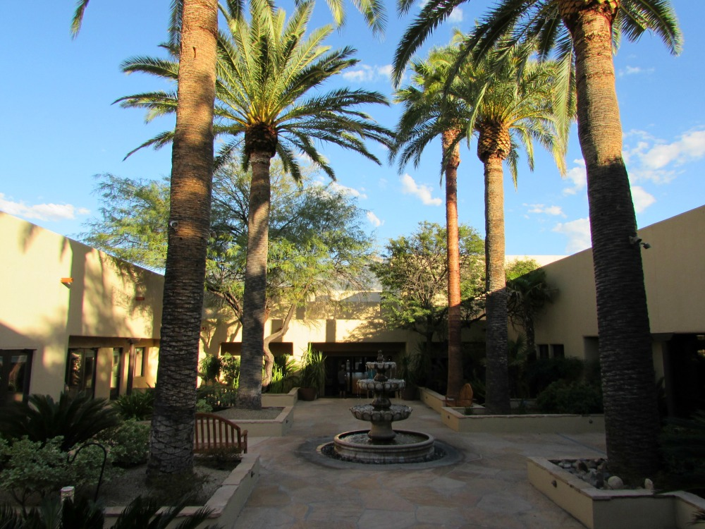 Baby Boomer Travel | Arizona | Miraval Resort and Spa - Fountain Court