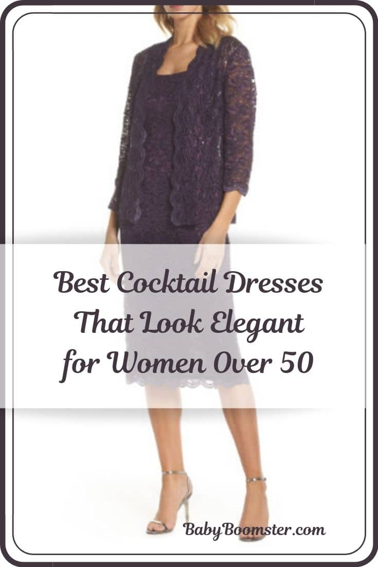 Best cocktail dresses for women over 50