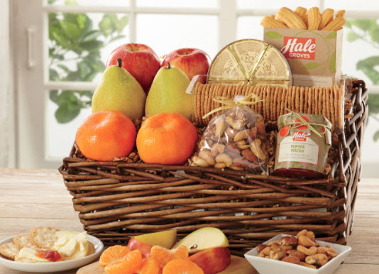 Baby Boomer Women | Gift Ideas | Hale Groves Savory Basket