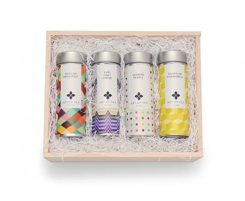 This lovely loose leaf #tea #giftset makes a great #gift for the #holidays or special occasions from Art of Tea