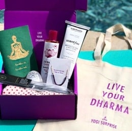 Give someone you love a Yoga Surprise box subscription. It makes an amazing #gift. #yoga