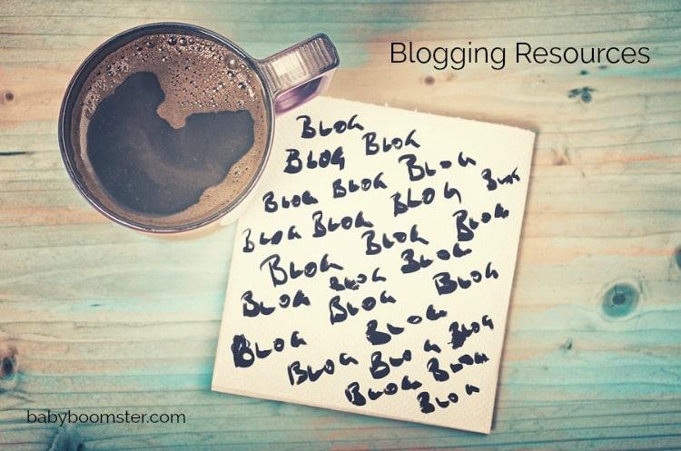 Baby Boomer blogging | Blogging resources