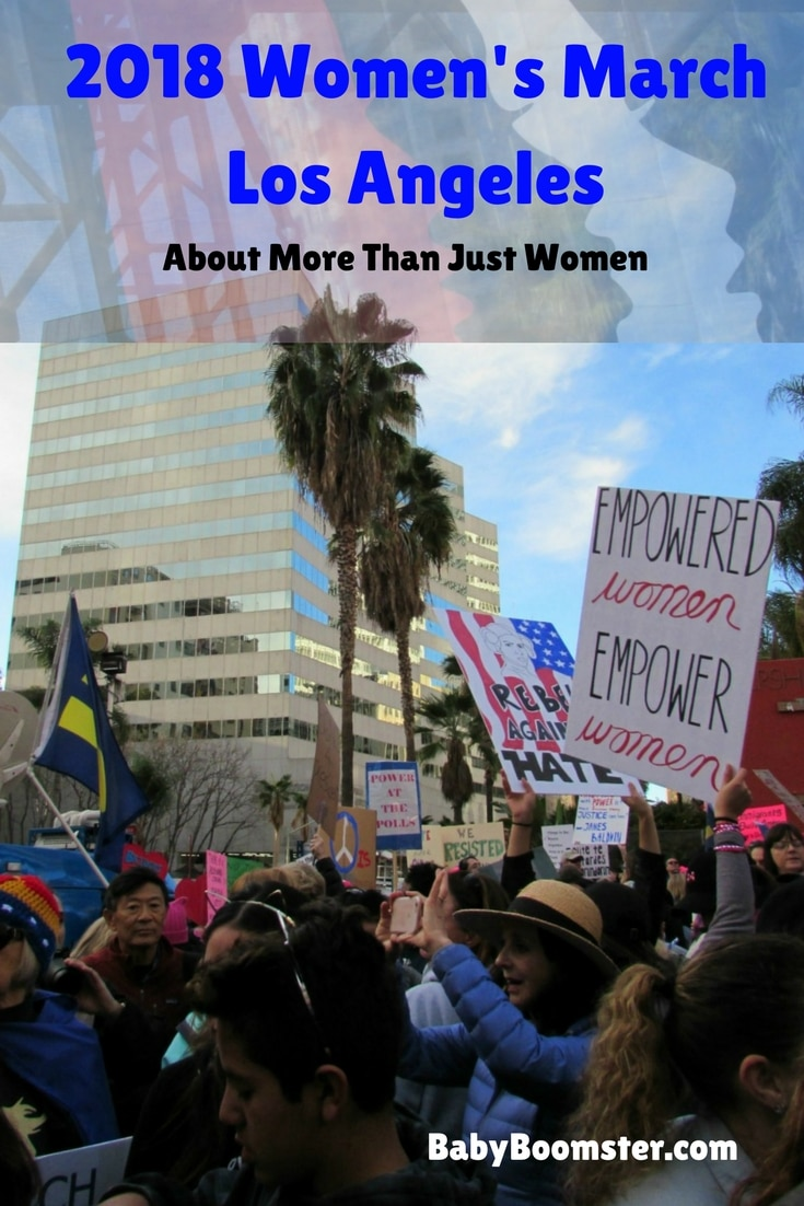 2018 Women's March Los Angeles | About More Than Just Women