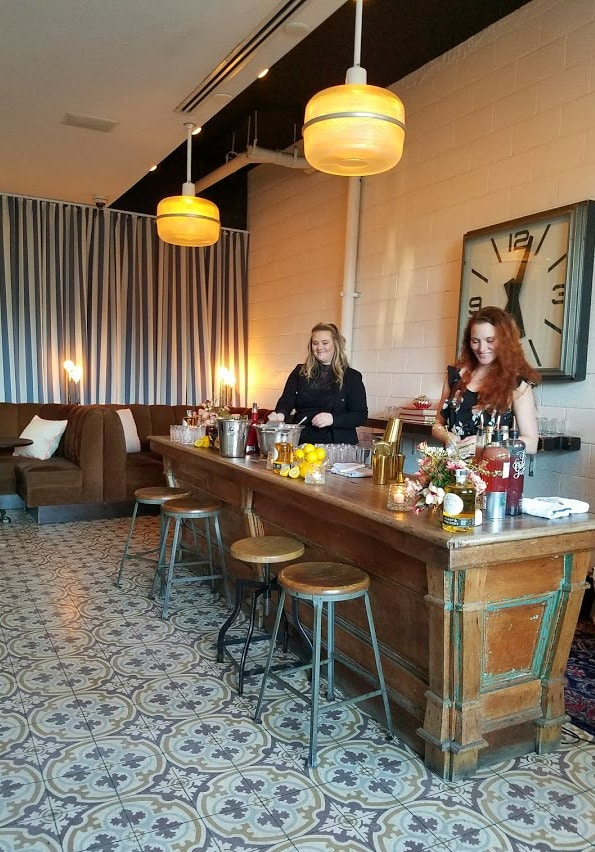 Women's History Month   Cocktails for Women   Los Angeles Bartender with their creations