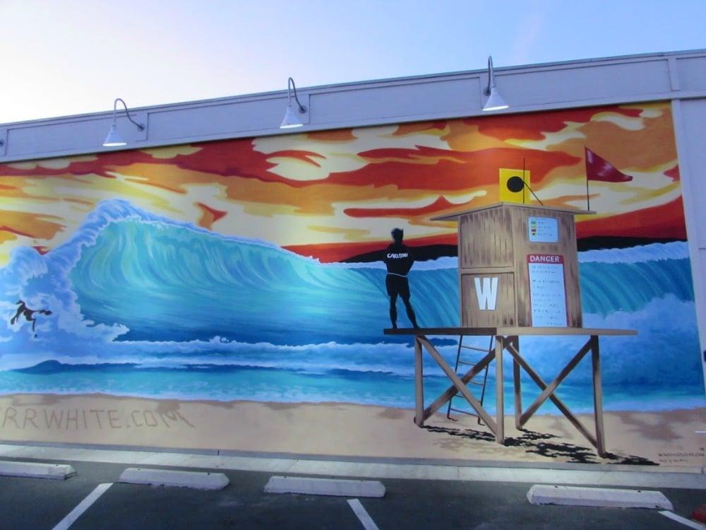 Baby Boomer Travel | Street Art | Beach | Beach Scene