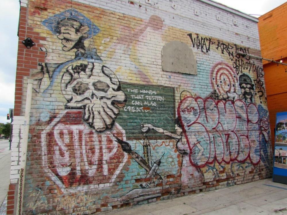 Baby Boomer Travel | Street Art | Boyle Heights | Hands that Destroy