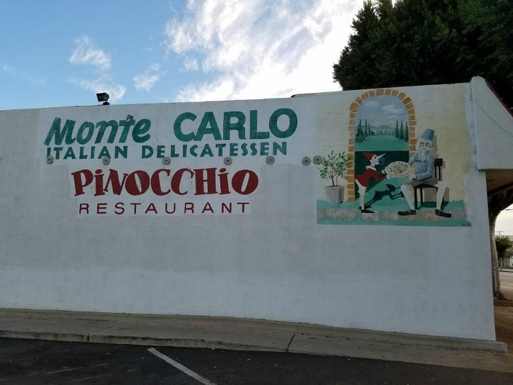 Baby Boomer Travel | Street Art | Burbank | Pinnochio Restaurant