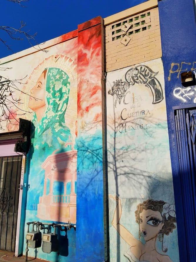 Casa del la Cultura de Mexico Inc at Mariachi Plaza in Boyle Heights #streetart #murals #LosAngeles #BoyleHeights #art