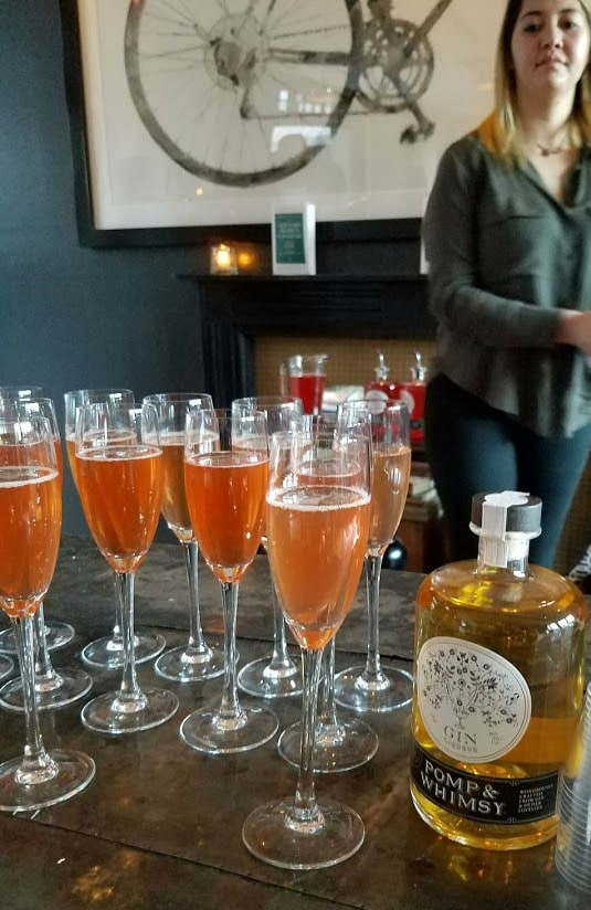Women's History Month   Cocktails for Women   Welcome Champagne