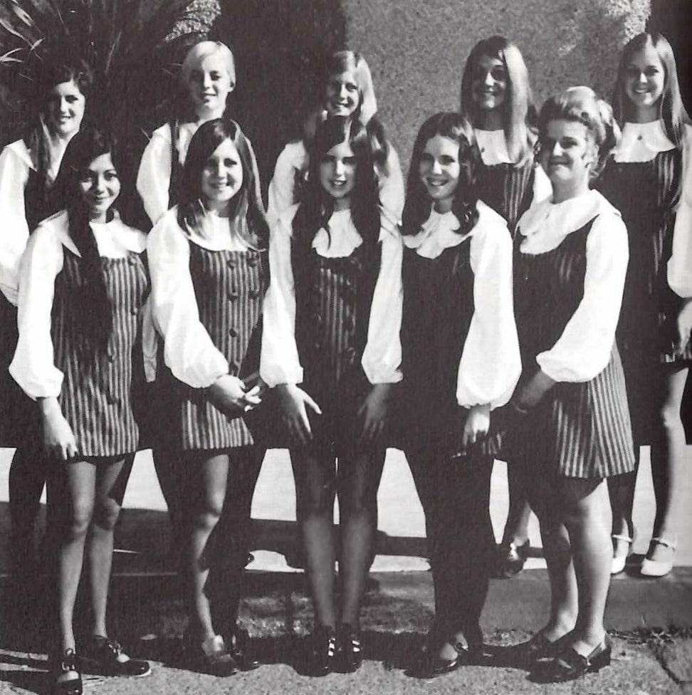 Baby Boomers   High School   High School Girl's League 1971
