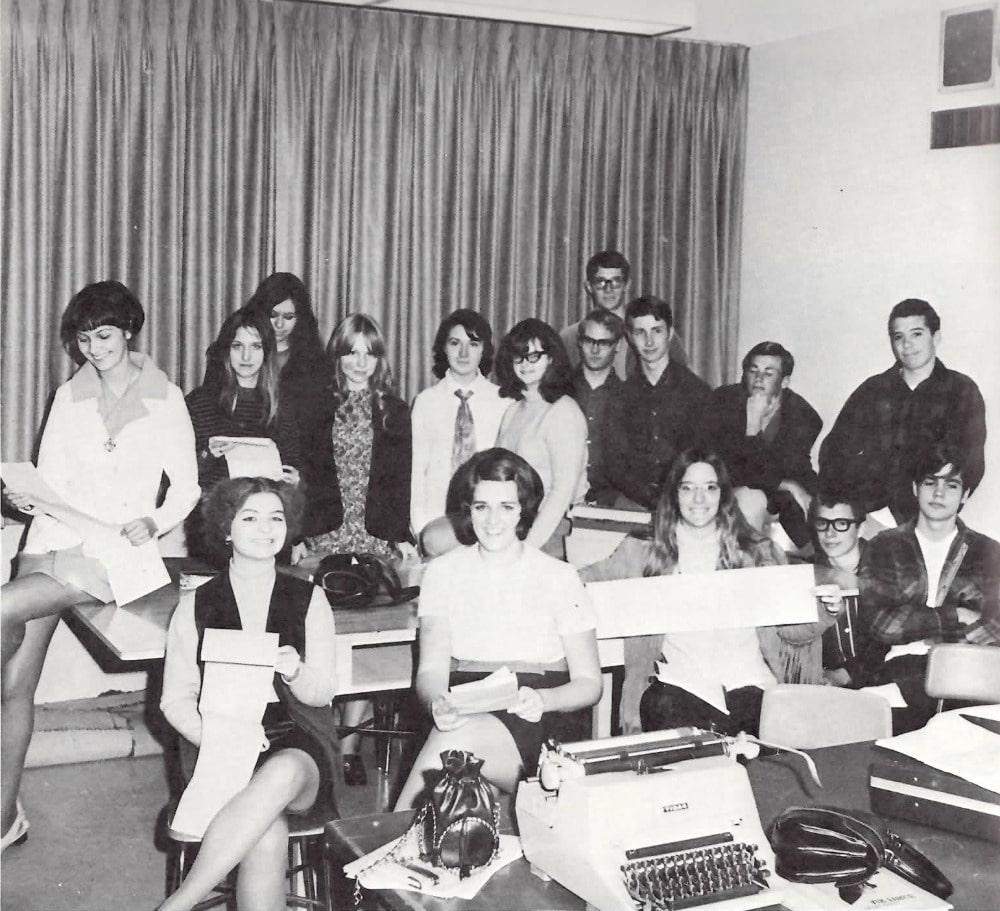 Baby Boomers   High School   School Newspaper 1970