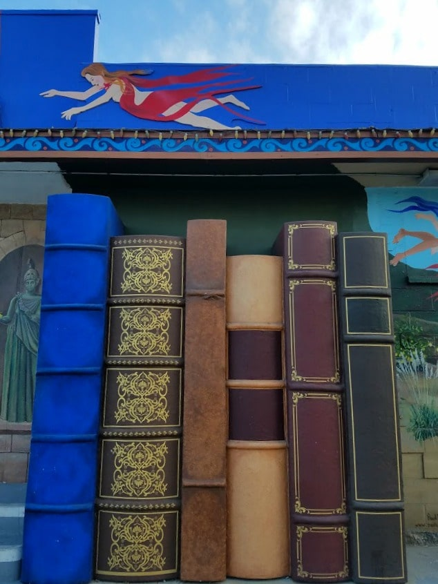 Baby Boomer Travel | Street Art | Iliad Bookstore entrance - NOHO