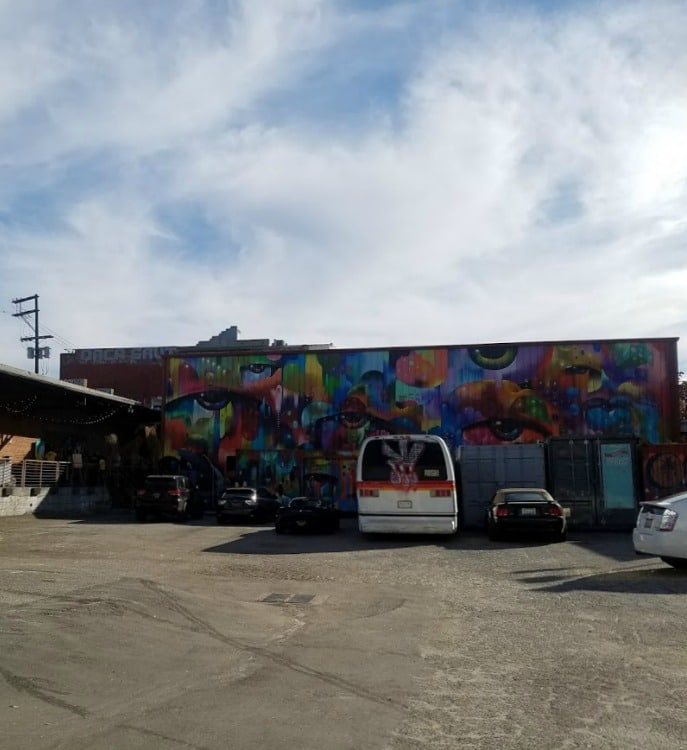 Baby Boomer Travel | Street Art | LA Arts District | Container Yard