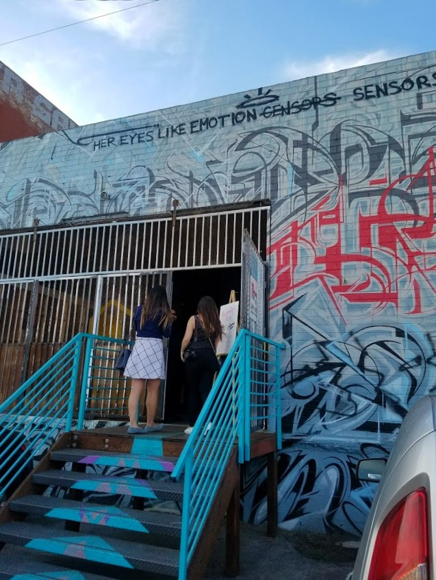 Baby Boomer Travel | Street Art | LA Arts District | Container Yard entrance