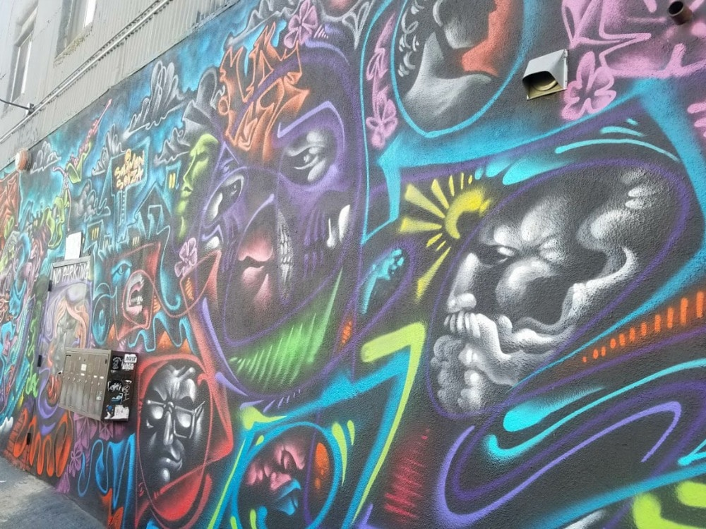 Baby Boomer Travel | Street Art | LA Arts District | Faces