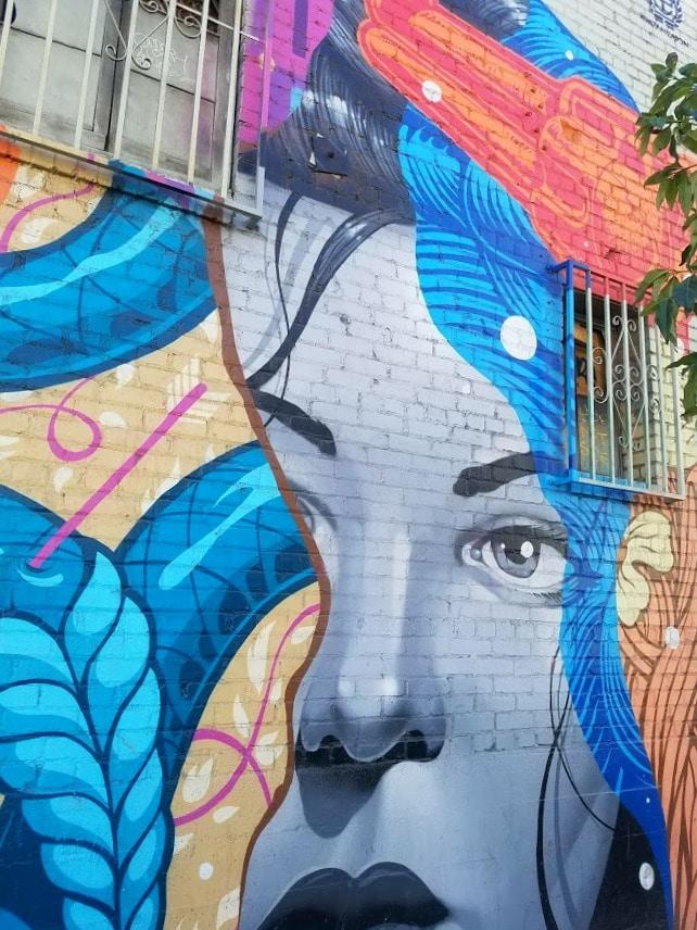 Mural by Tristan Eaton in the Downtown Los Angeles Arts District #tristaneaton #mural #streetart #DTLA #LAART