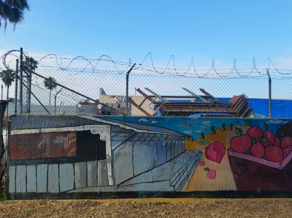Baby Boomer Travel | Street Art | Lankershim Toluca Depot