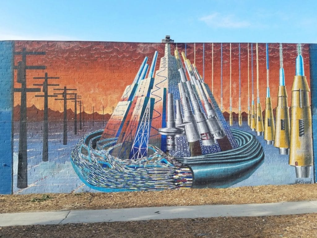 Baby Boomer Travel | Street Art | Missiles and Power Grid