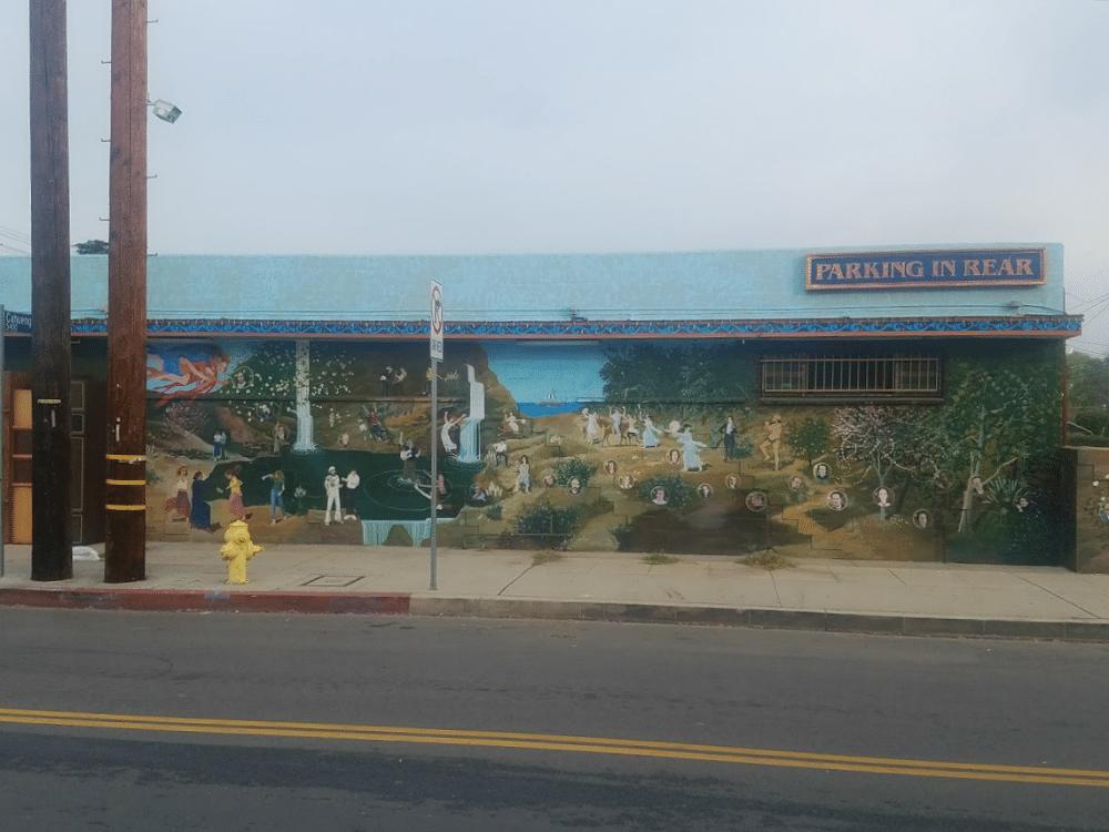 Baby Boomer Travel | Street Art | NOHO | Side of Iliad Bookstore