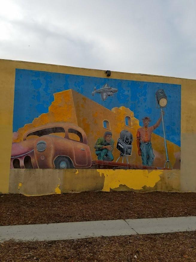 Baby Boomer Travel | Street Art | NOHO | film crew
