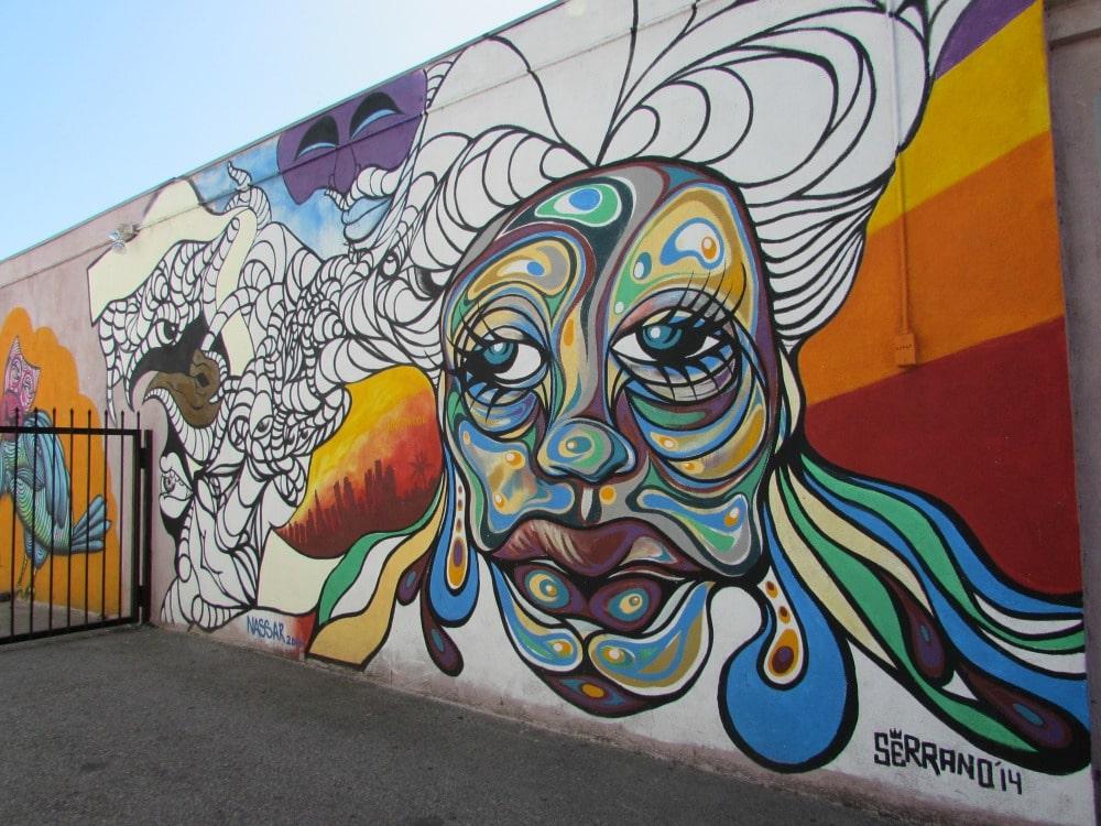 Baby Boomer Travel | Street Art | Serrano - Nassar - Secret Rose Theatre 14 NOHO