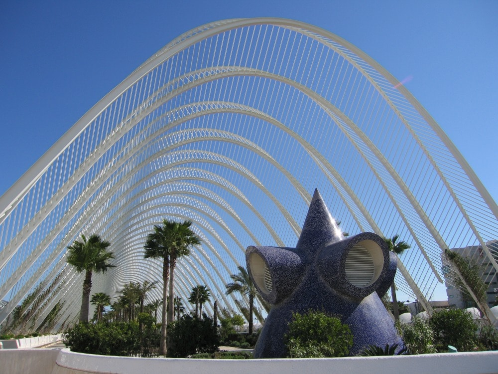 Baby Boomer Travel | Travel Tips | Valencia, Spain - Art and Sciences Building